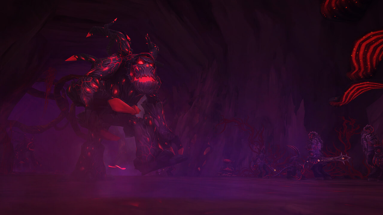 WoW Legion Raid Emerald Nightmare Thicket